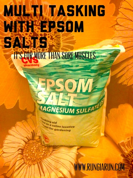 epsom salts for runners