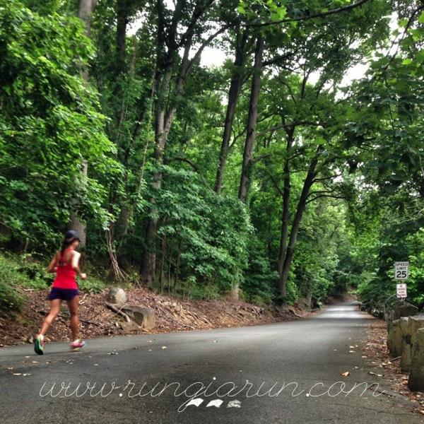 Running Up Hills