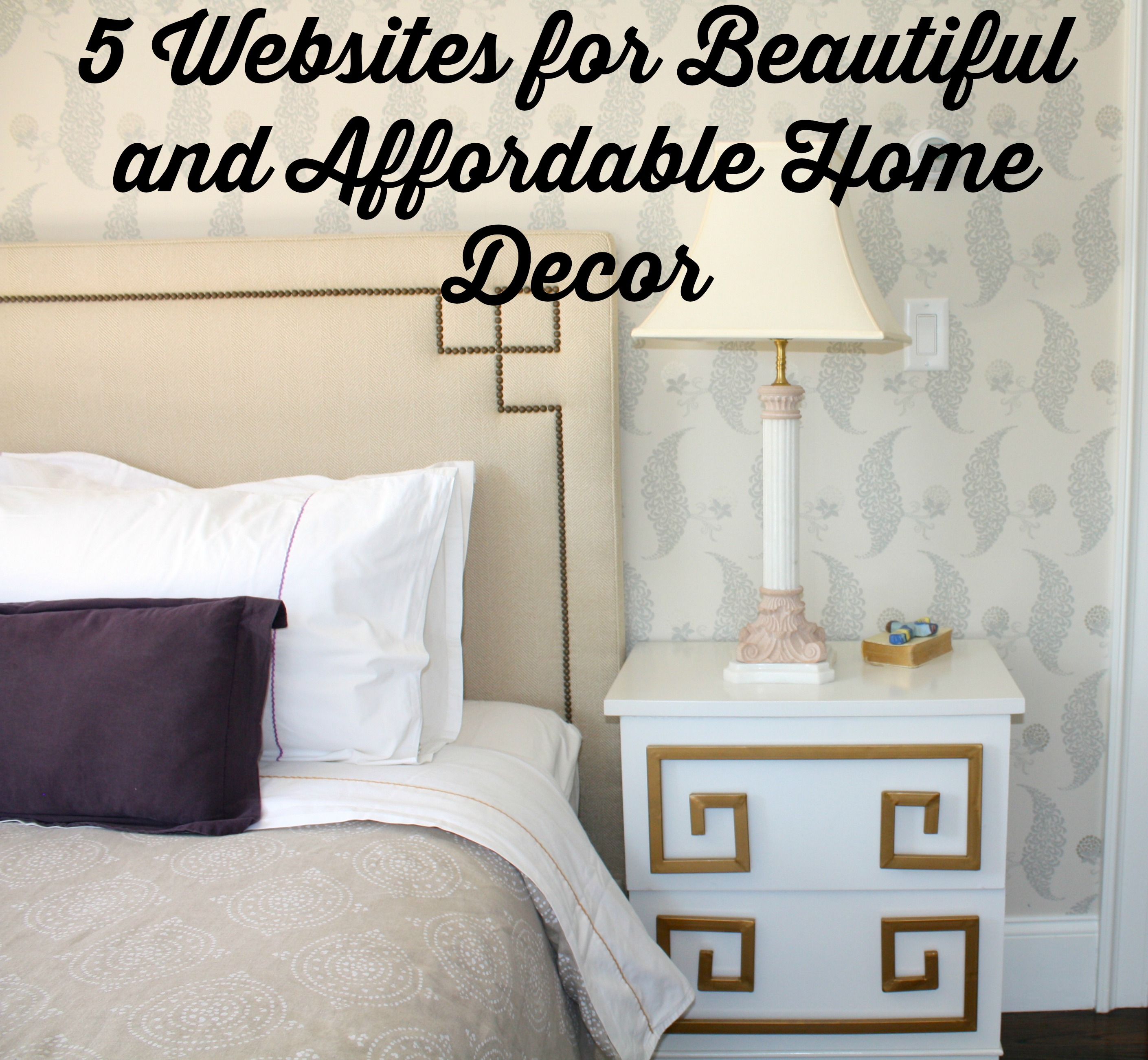 Home Furnishing Websites: Friday Favorites: 5 Websites For Beautiful And Affordable